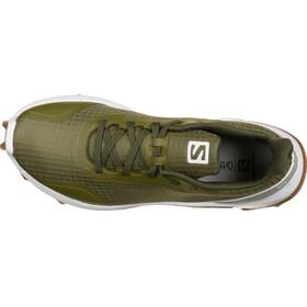 Salomon Alphacross Shoes Women olive